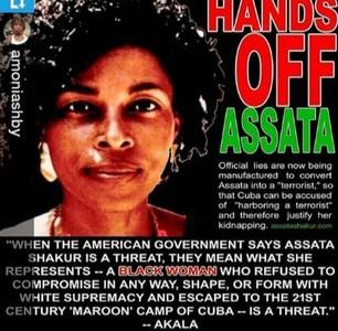 "Assata Shakur ""I am a 20th Century Escaped Slave"""